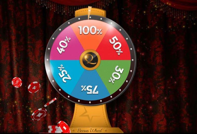 Con la promoción de la rueda del bono de Unique Casino ganas fantásticas recompensas sobre tu siguiente ingreso