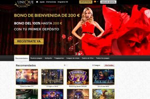 Ofertas de Unique Casino