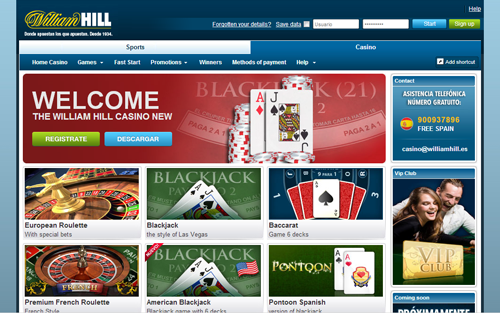 william hill online casino ra online