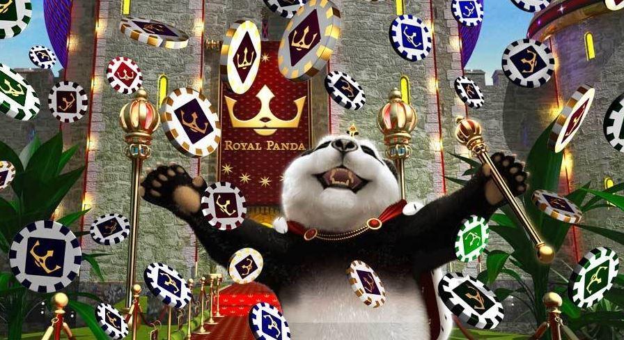 panda slott chips penger