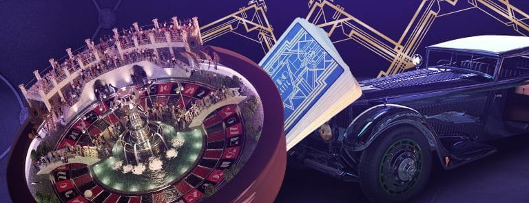 Spill retro Live Roulette hos Norgesautomaten