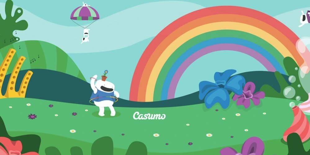 Få store mengder free spins hos Casumo