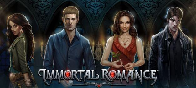 Free Spins-runden i Immortal Romance byr på stor spenning