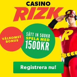 rizk bonus banner
