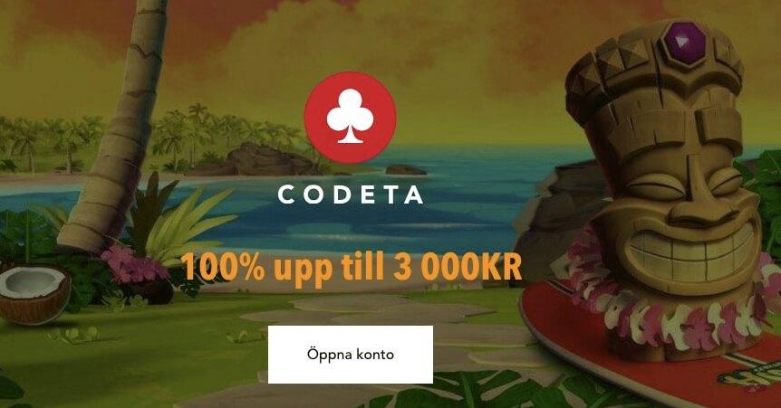Få exklusiv bonus på Codeta