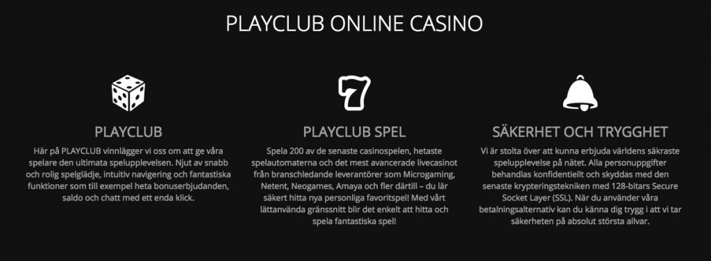 Insättningsfria freespins med PlayClub