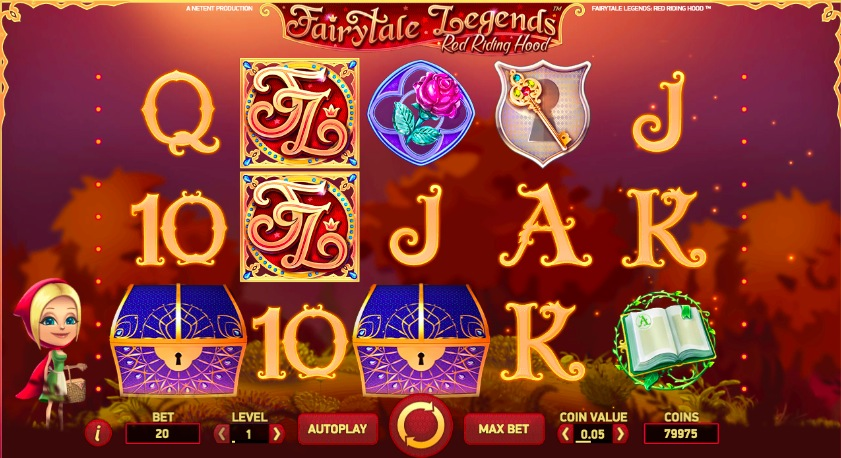 start online casino red riding hood online
