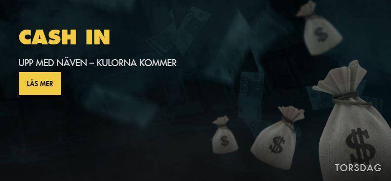 BetHard cash in kampanj med cash priser