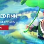Skaffa free spins till Finn and the swirly spins hos Guts