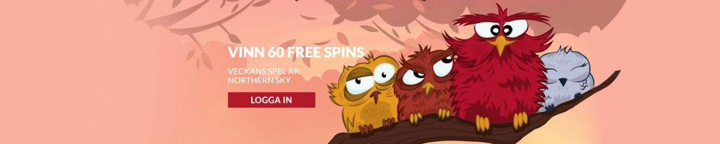 Vinn free spins hos Guts casino